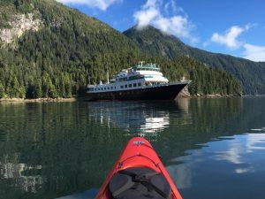Alaskan Dream Cruise Kayaking at Baranof Island
