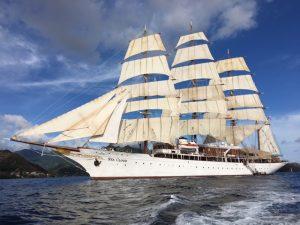 Caribbean Ian Sea Cloud full sail 2
